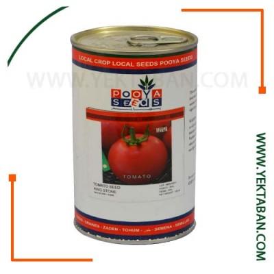 بذر گوجه فرنگی کینگ استون( قوطی) پویا بذر