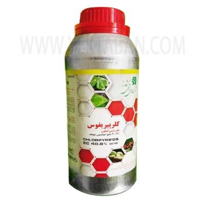 سم حشره کش کلرپیرفوس (دورسبان) شیمی کشاورز